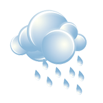 On-and-off rain and drizzle in the morning; otherwise, considerable clouds